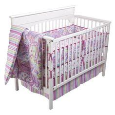Purple Paisley Crib Bedding by Baby Rooms In Paisley S On Paisley Nursery