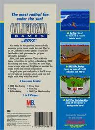 California Games Nintendo Nes Games Database