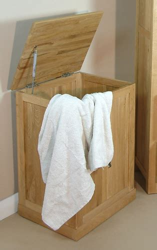 oak laundry mobel solid oak laundry bin
