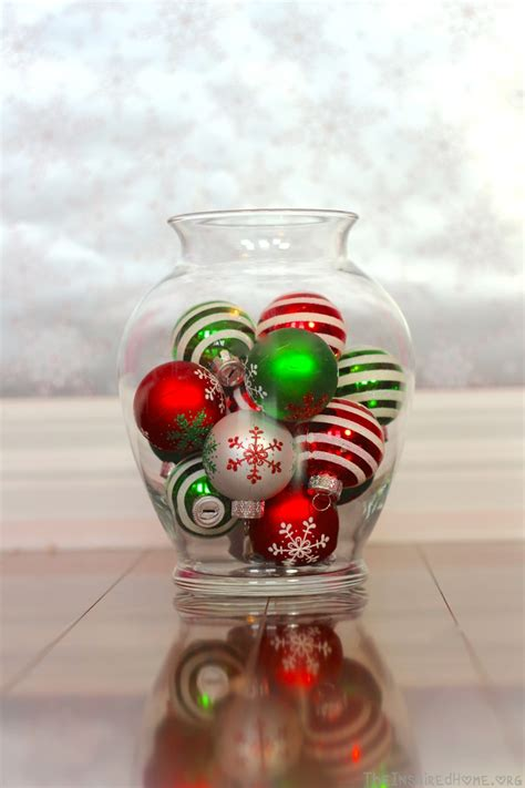 6 holiday vase fillers christmas vases tree decorations