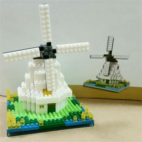 Loz Lego Wind Mill Netherland Architecture Series 17 best images about nanoblock on
