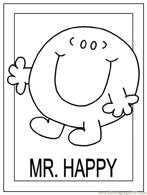 mr men coloring pages6 coloring kids