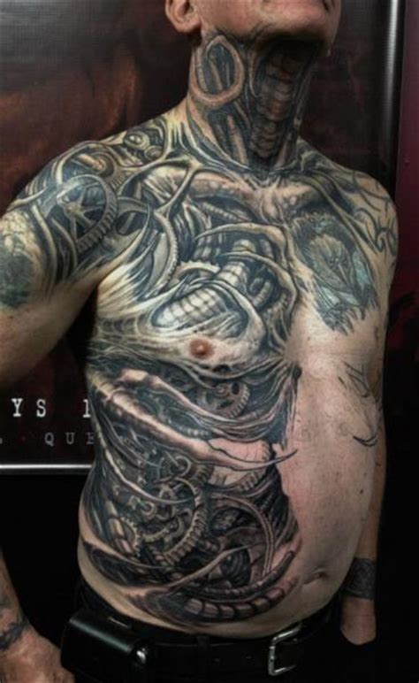 biomechanical neck tattoo biomechanical side neck belly tattoo by nephtys de l etoile