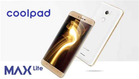 coolpad max lite with snapdragon 415 soc and 3gb ram