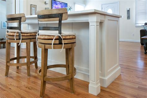 custom kitchen islands with seating custom shore kitchen bradley new jersey by design