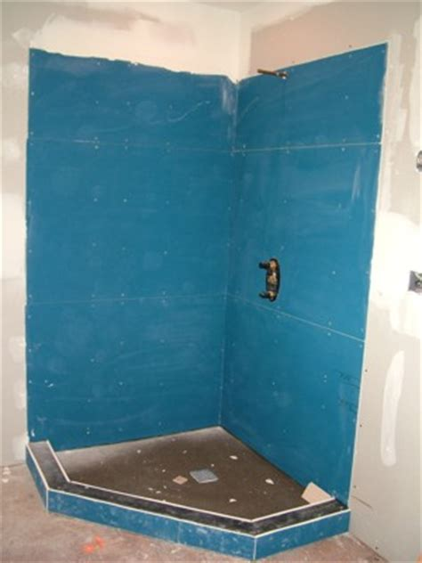 Bathroom Drywall Backer Board Backer Board Ask The Builderask The Builder
