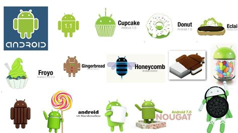 all android versions android all version history 2008 2017