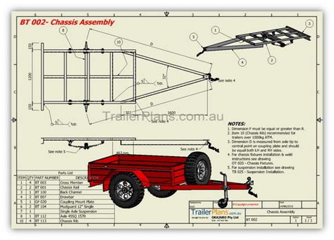 Box Trailer Plans Build Your Own Trailer Www Building Plans For Utility Trailers