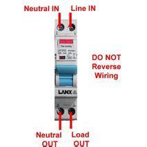 electronic single pole rcd mcb rcbo safety switch 4 5ka 6ka 10ka