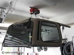 hanging jeep hardtop garage 2016 rachael edwards