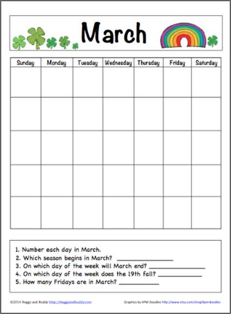 printable calendar kindergarten unusual week printable worksheets free for teachers