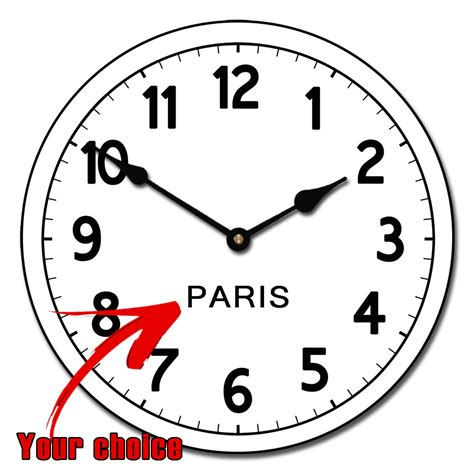 Wall Sticker Map Of The World world time zone clocks collection the big clock store