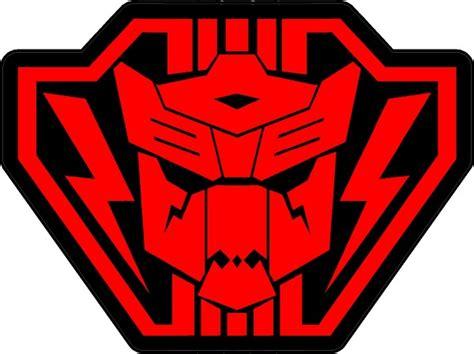 Emblem 3d Transformer Magnetic Neomydium autobot dinobot transformers color sticker