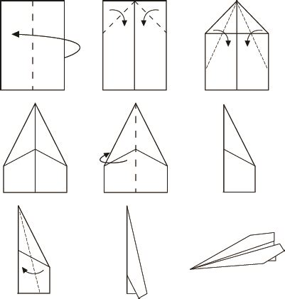 tutorial origami airplane stupid robot the greatest wordpress com site in all the