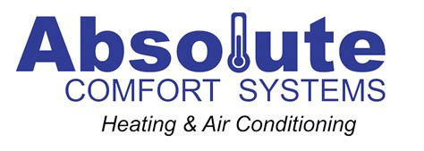 comfort systems absolute comfort systems air conditioner furnace repair