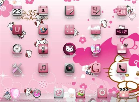 cute themes free download pc hello kitty backgrounds for laptops wallpaper cave