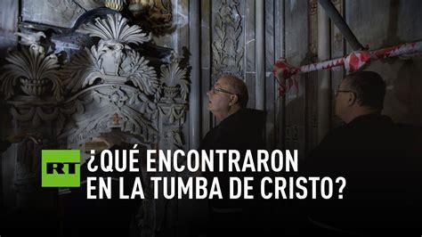manfredi la tumba de abren la tumba de cristo por primera vez en siglos youtube