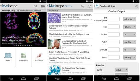 medscape offline apk especial las mejores aplicaciones de medicina y salud para android el androide libre