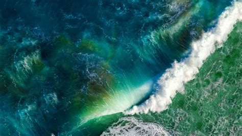 ocean waves ios stock  wallpapers hd wallpapers id