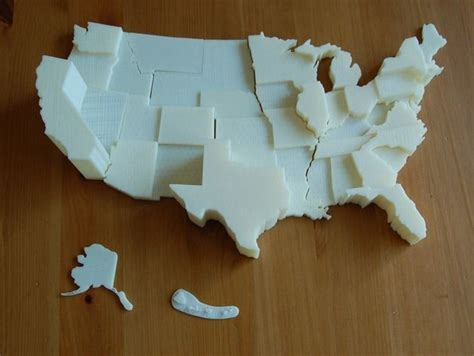 us map project ideas 28 best 3d printing in education images on