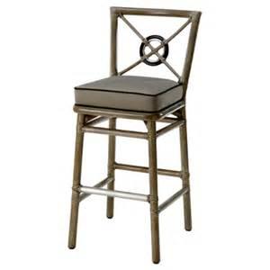 Rattan Bar Stools Target Mcguire Furniture Rattan Target 174 Back Bar Stool No