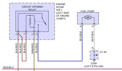 toyota camry fuel relay location wiring automotive