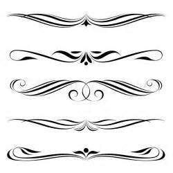 decorative border vector decorative elements border and page stock vector