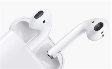 Apple Airpods Earphone Wireless apple airpods wireless headphones are equipped with custom designed apple w1 chip tuvie