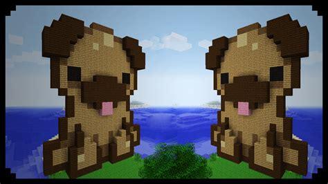 pugs in minecraft minecraft pixel friday pug puppy