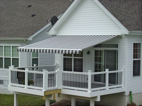 awnings for homes retractable retractable patio awning home design insight
