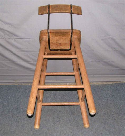 Wooden High Stool Wooden High Chair Or Stool Olde Things
