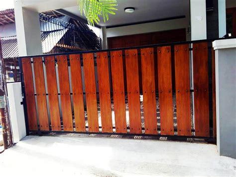 warna cat pagar besi rumah minimalis informasi desain