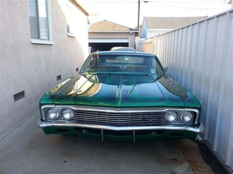 impala los angeles 1966 chevrolet impala los angeles car fresh crate 350