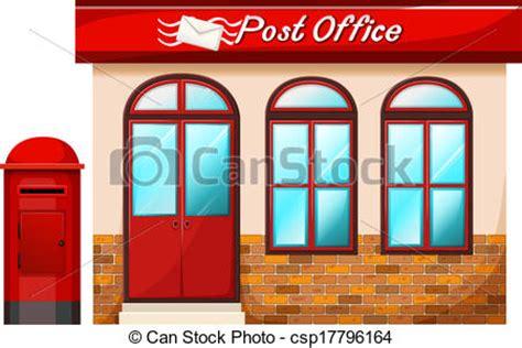 Post Office Plano by Clip De Vectores De Poste Oficina Ilustraci 243 N De
