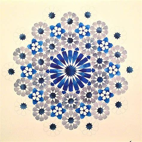 blue arabesque islamic geometric patterns inside an old 10616944 266761123522957 1730557195 n jpg 640 215 640