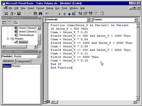tutorial visual basic microsoft excel visual basic creating vb function for ms excel visual