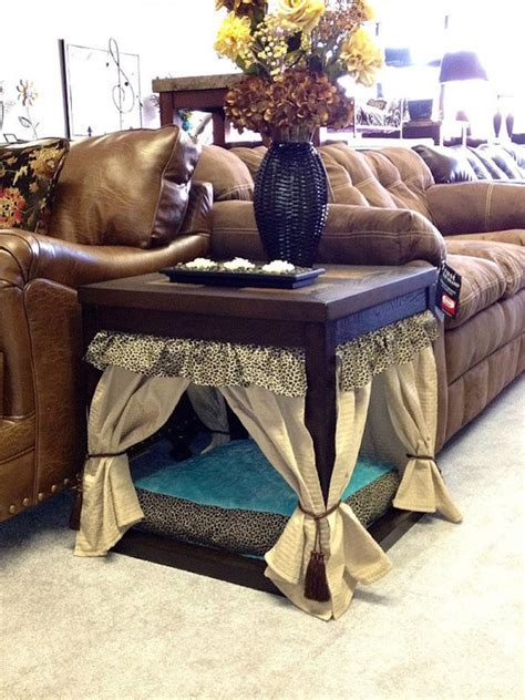 dog bed out of end table 15 stylish pet beds that also serve as great looking tables
