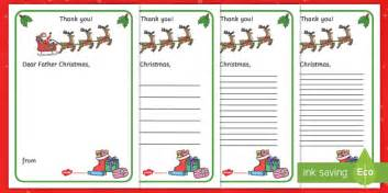 Thank You Letter Template Eyfs Thank You Letter To Writing Template Thank