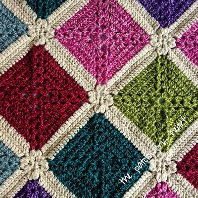 Wisteria Patchwork - best 25 crochet blocks ideas that you will like on