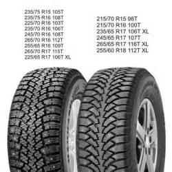 Suv Snow Tires Comparison 2 Nokian Nordman Suv Winter Snow Tire 265 65r17 116t Ebay