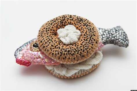 crochet cuisine kate jenkins crocheted foods are the most delicious