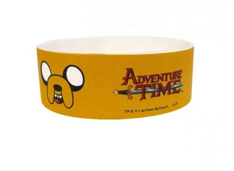 511 Time Rubber adventure time jake rubber wristband bracelet