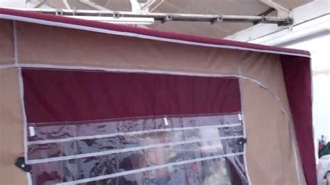 harrison awnings harrison high top deluxe motorhome awning youtube
