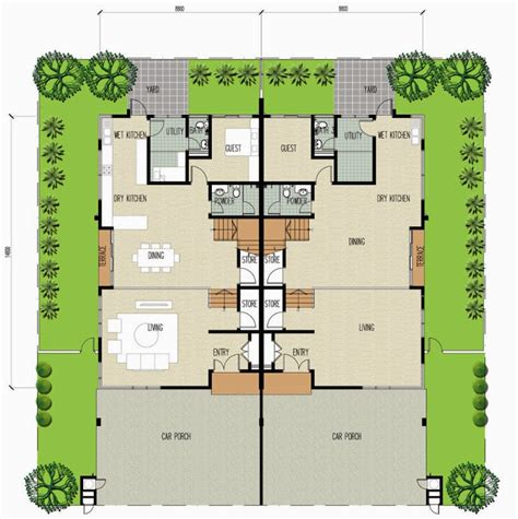 good feng shui house floor plan floor plan feng shui 平面图の风水 clover garden residence 2