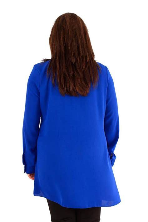 plus size swing tunic womens plus size embellished collar shirt long sleeve