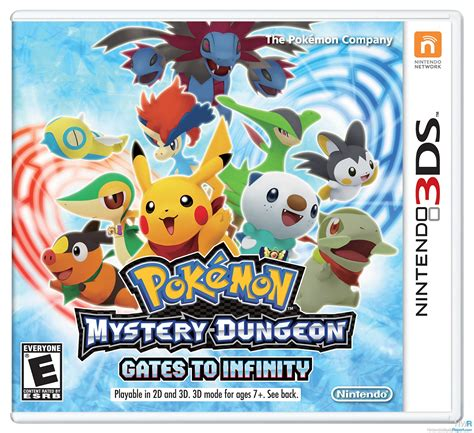 Kaset 3ds Mystery Dungeon Pok 233 Mon Mystery Dungeon Gates To Infinity Preview Preview Nintendo World Report