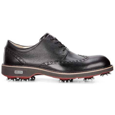 mens spiked shoes ecco 2017 mens classic leather spiked brogue golf shoes