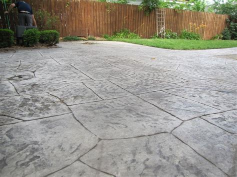 Sealing A Sted Concrete Patio Wonderful Epoxy Concrete Sealing Concrete Patio