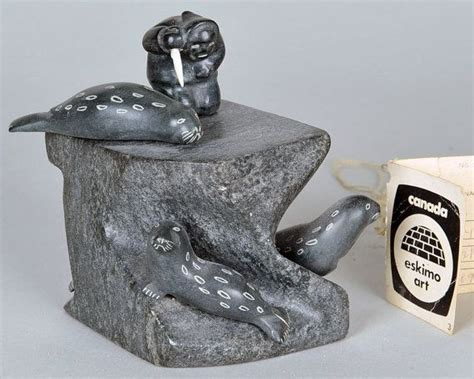 How To Clean Soapstone Carvings - vintage soap sculpture authentic inuit by