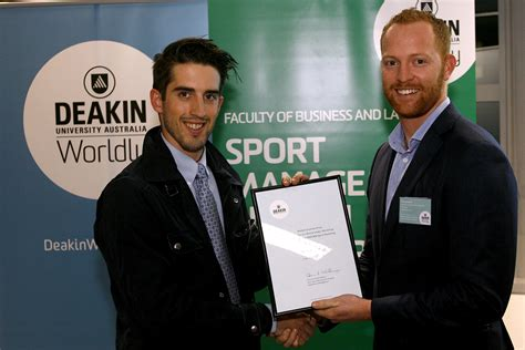 Deakin Mba In Sport Management by Deakin Business School Sport Management Alumni Chapter
